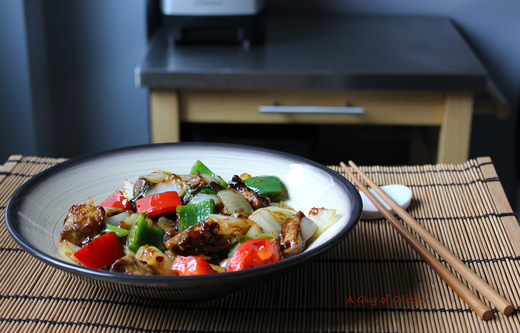 Quorn Spicy Beef and Peppers Stir Fry