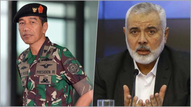 Surati Presiden RI, Pemimpin Hamas Minta Jokowi Segera Bertindak untuk 'Hukum' Israel