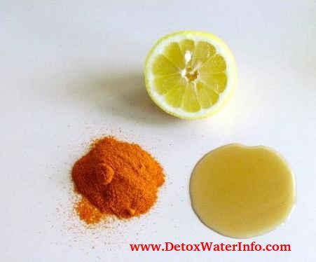 Lemon cayenne pepper detox water recipe