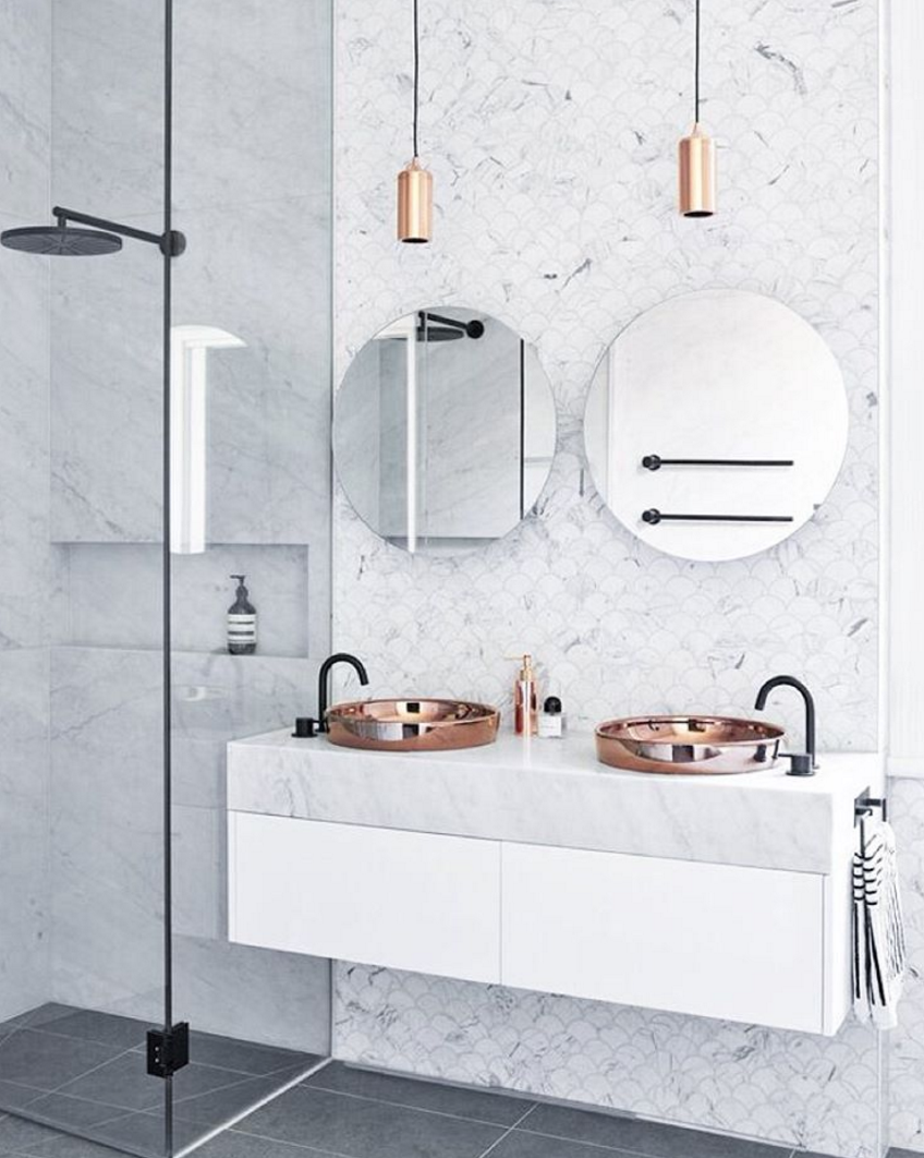 Let 39 s talk about tiles simple guide to tiles don 39 t for Stone coloured bathroom accessories