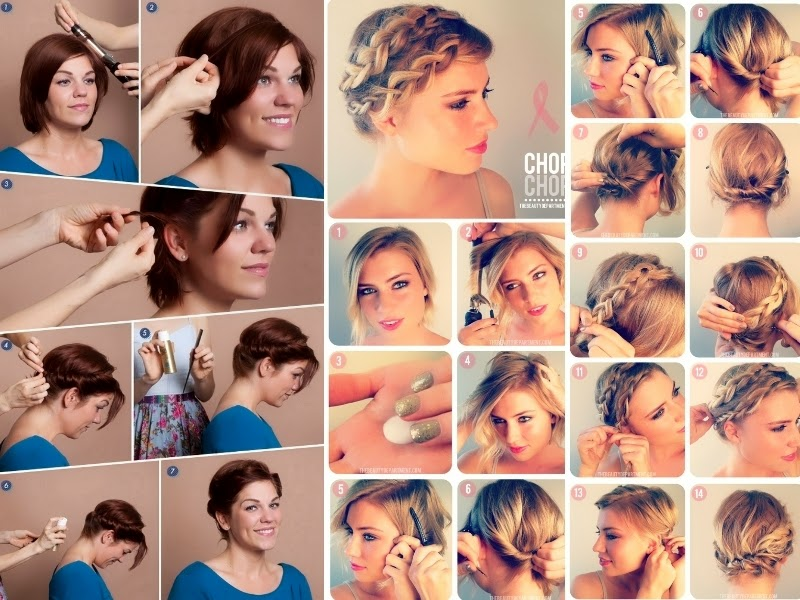 Favorito Look Like A Model: Tutorial hairstyle: come fare acconciature con  ZE32