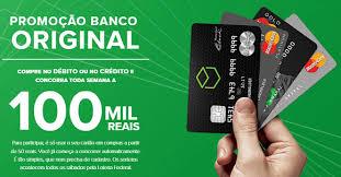 Promoção Banco Original