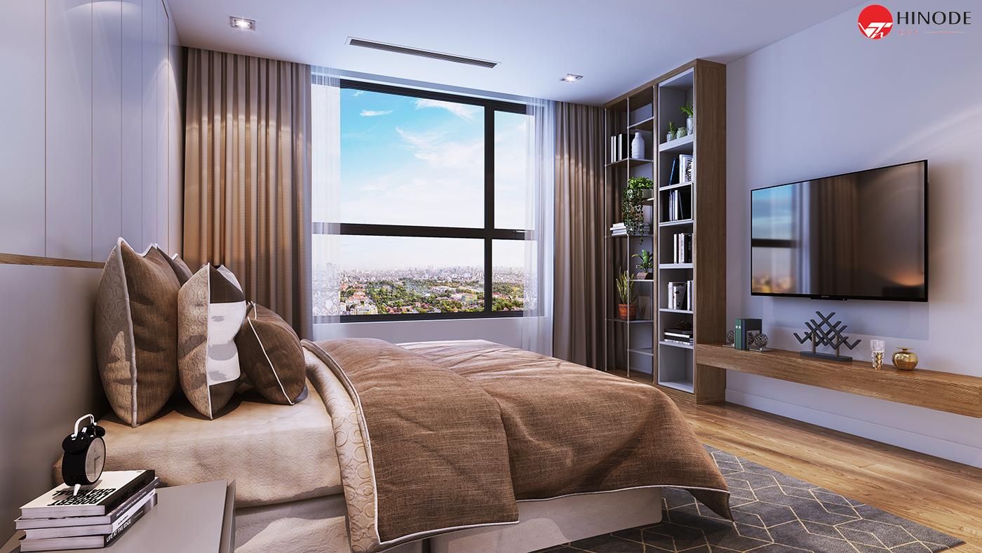 Mẫu thiết kế phòng ngủ của dự án 201 Minh Khai