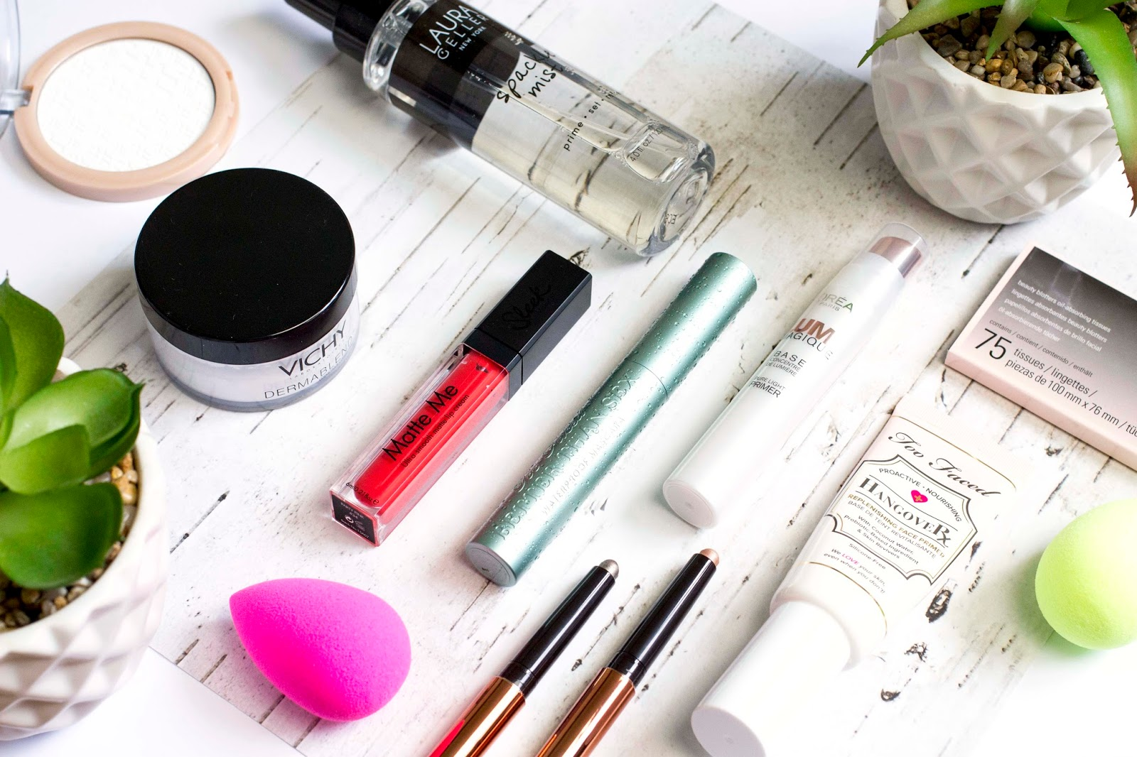 Let's start right at the beginning and talk about makeup preparation! Makeup that sticks around all starts right at the base and it's important to give it a ...