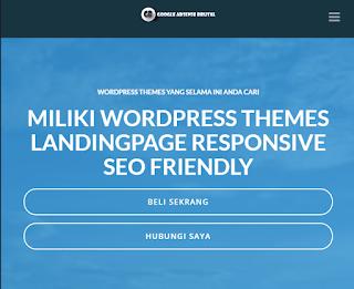 premium landing page template for wordpress