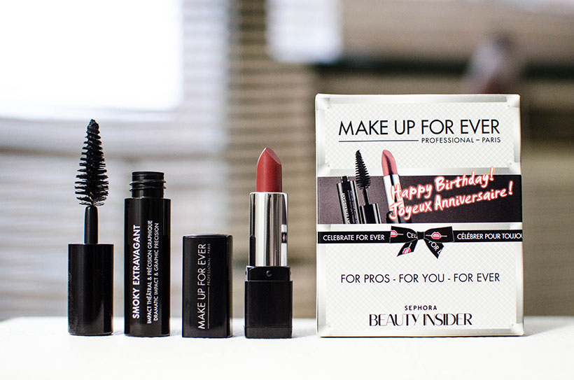 Sephoras Birthday Gift 2014 MAKE UP FOR EVER