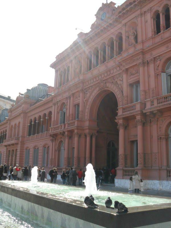A Casa Rosada por dentro  multicor  Qu Tal