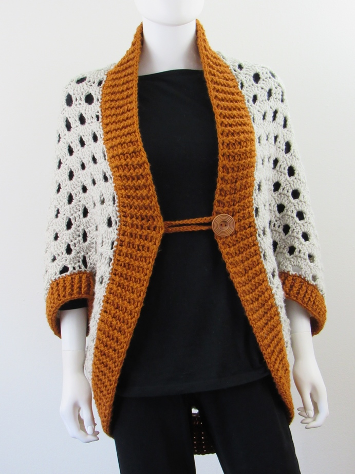 Crochet Cardigan Pattern That Works Up In 7 Hours Or Less Crochet Dreamz