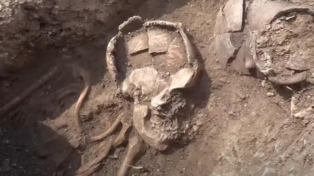 Τρανσυλβανία: Βρέθηκαν σκελετοί με αγγεία τοποθετημένα στο κεφάλι τους