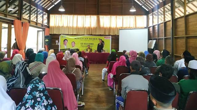 Reses Bersama Warga, Anggota Fraksi Golkar Jabar Soroti Perijinan KBU