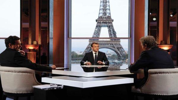 Tras ataque a Siria, Macron dice que la paz no se hace con bombas