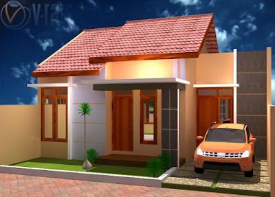 contoh rumah minimalis dengan garasi samping