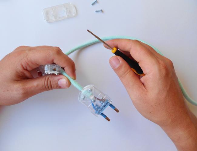 Lámpara auxiliar DIY