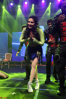 Sunny Leone Dancing on stage At Rogue Movie Audio Music Launch ~  113.JPG