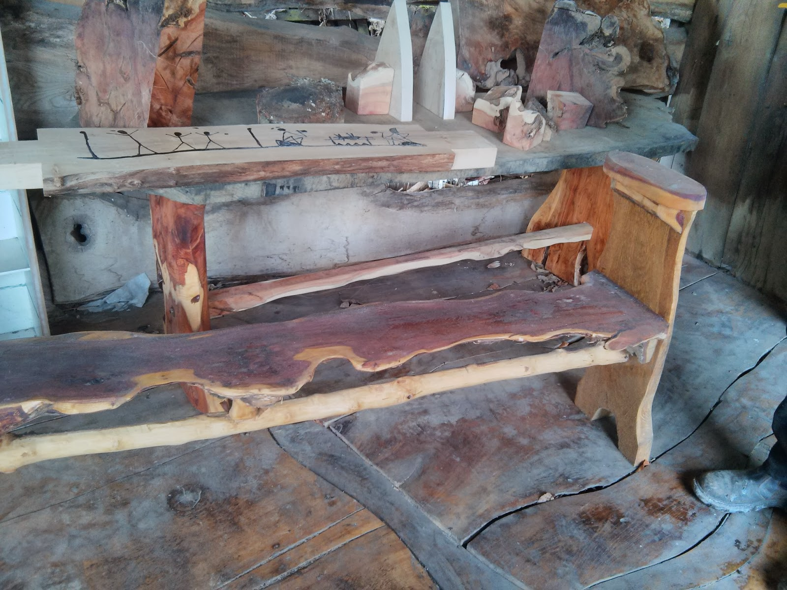 Wooden Items And Garden Furniture In Fife Salvaged Beams