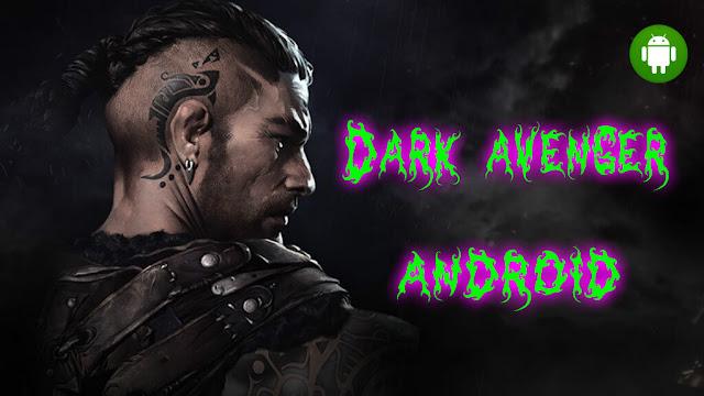 تحميل لعبة للاندرويد 3 Dark avenger  هذه اللعبة شبيهة بلعبة مشهورة وهي God of war