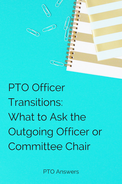 PTO Officer Transitions: What to Ask the Outgoing Officer