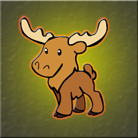 G2J Cute Moose Escape