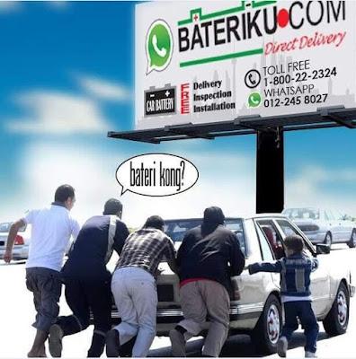 bateriku.com penyelesai masalah bateri kereta anda; bateri kong
