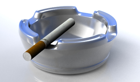 ashtray 3d model free