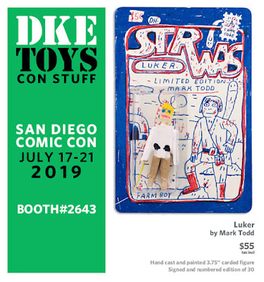 San Diego Comic-Con 2019 Exclusive Luker Star Wars Resin Figure by Mark Todd x DKE Toys