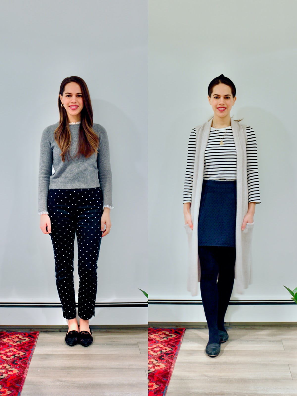 Jules in Flats - February Outfits Week 2 (Business Casual Winter Workwear on a Budget)