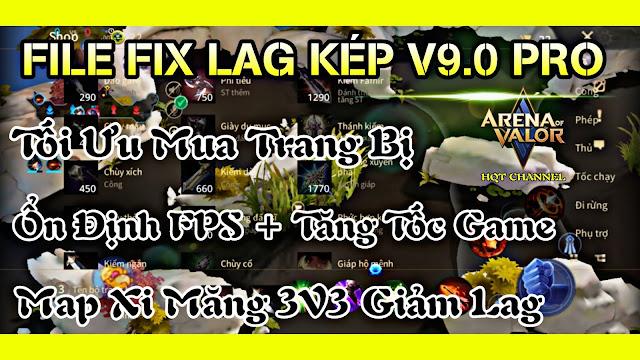 File Fix Lag Liên Quân Mùa 17 Tối Ưu Mua Trang Bị Siêu Ổn Định FPS + Tăng Tốc Game Cực Mượt, Map Xi Măng 3V3 Mới Nhất - HQT Channel