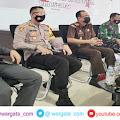 Kapolres Ikuti Pengarahan Presiden Republik Indonesia Secara Virtual di Kantor Bupati Enrekang