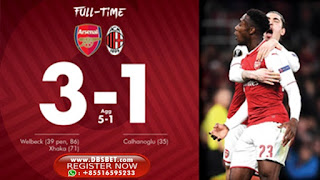 Arsenal 3-1 Ac Milan