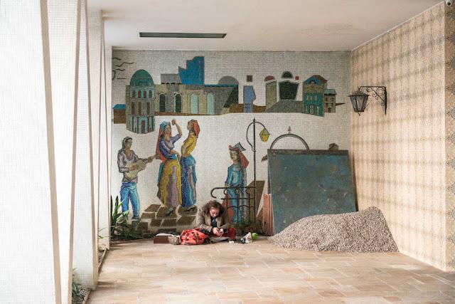 Dois mosaicos de Franco Giglio
