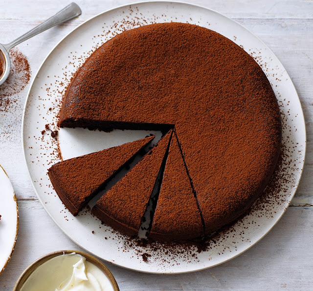 Chocolate Olive Oil Cake Recipe