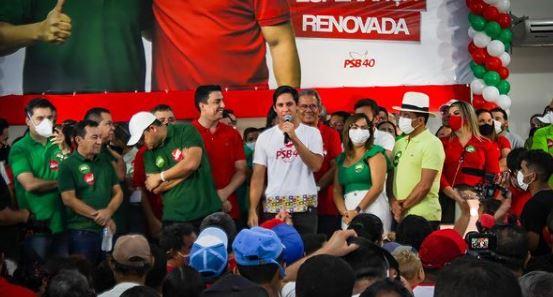 Eleições suplementar: Rafael Motta prestigia convenção do PSB em Guamaré