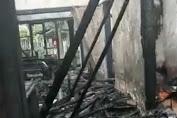 Sebuah Rumah Permanen di Kadungora Ludes Terbakar
