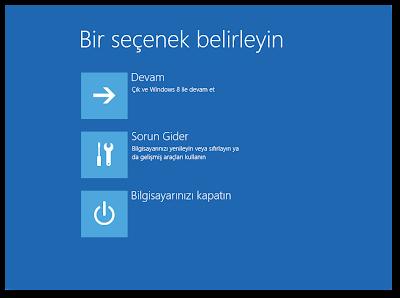 """Windows 10 """"Gelişmiş Başlangıç Menüsü"""" Kısayolu Oluşturmak"""