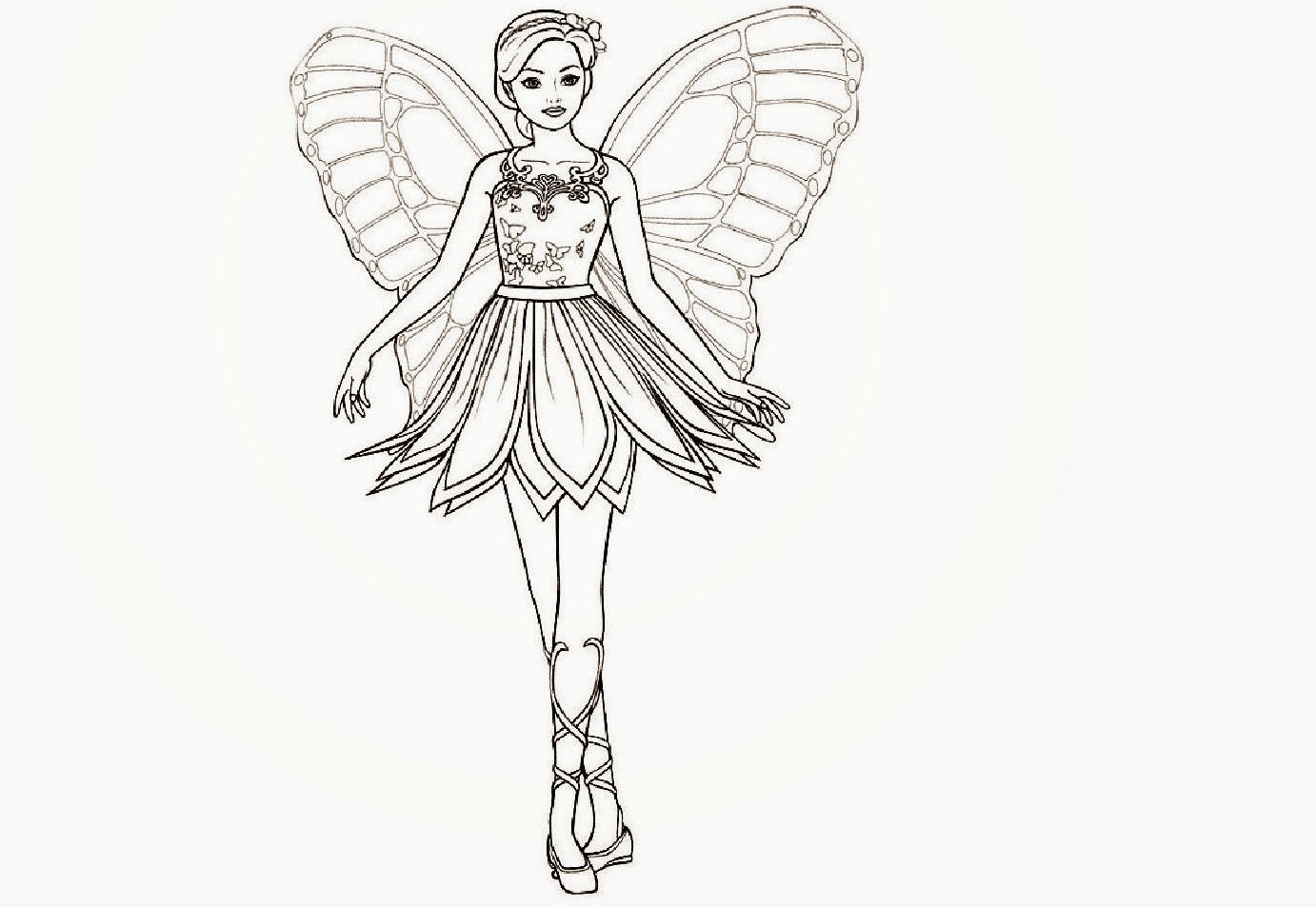 colours drawing wallpaper: Butterfly Fairy Queens Colour ...
