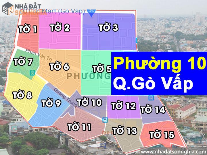 Thông tin quy hoạch phường 10 quận Gò Vấp