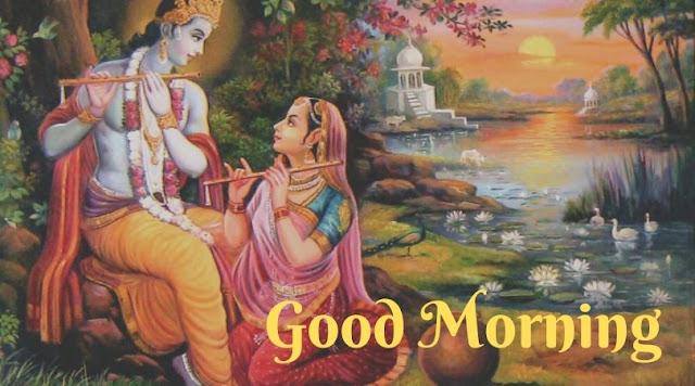 radha krishna good morning image full hd
