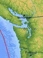 Vancouver sismos