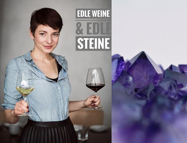 """Die Wein- und Schmuck-Präsentation  """"Edle Weine und edle Steine"""" in Meisenheim an der Nahe."""