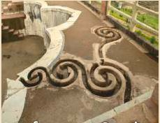 Snake Shaped Drains