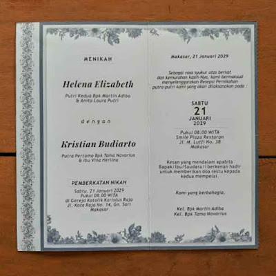 contoh undangan pernikahan kristen 10