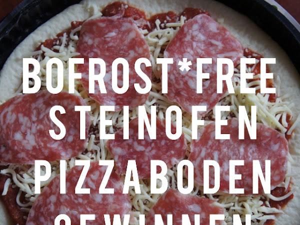 bofrost*free Steinofen Pizzaboden & Gewinnspiel