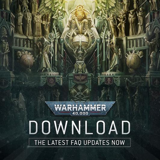 Actualización de puntos para Warhammer 40,000