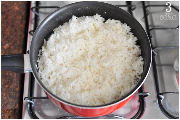 receita arroz foto passo a passo