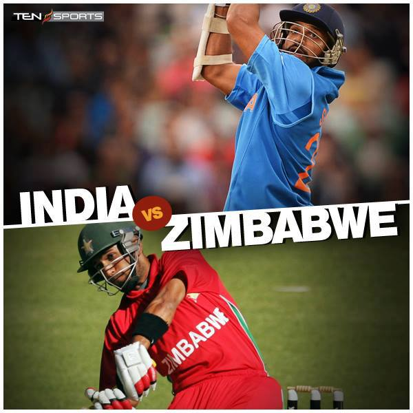 Watch India V/s Zimbabwe ODI Match Live