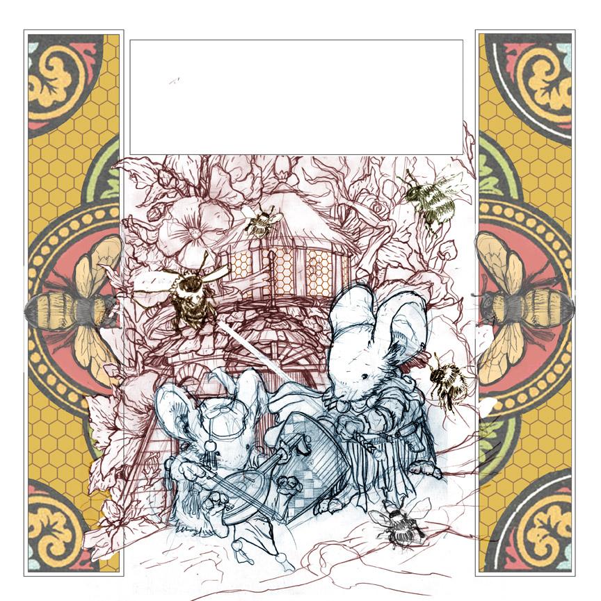 David Petersen\'s Blog: Mouse Guard Coloring Book
