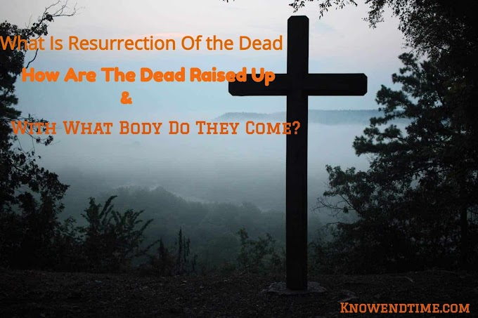 What Is Resurrection Of the Dead, How Are The Dead Raised Up And With What Body Do They Come?