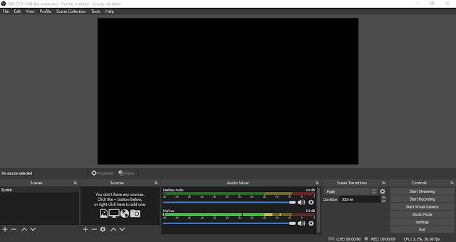 OBS Studio, Aplikasi Live Streaming Youtube di PC