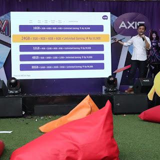Axis Meluncurkan Paket OWSEM  untuk Gaming dan Sosmed