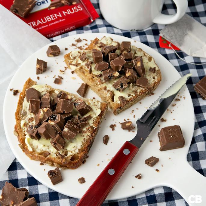 De allerlekkerste chocolade-boterham: met echte chocolade!